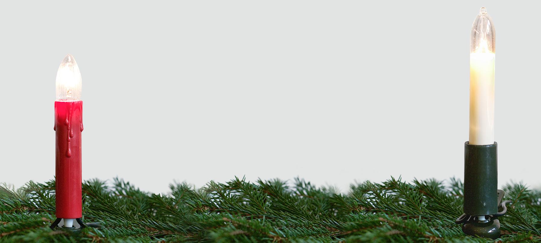 Lichterkette weihnachtsbaum rotpfeil